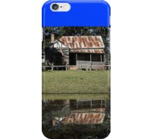 Rustic Home Reflection, Pacific Highway, Australia 2011 iPhone Case/Skin