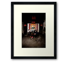 If you go carrying pictures of Chairman Mao.... Framed Print