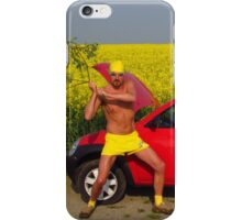 Damn Good Thrashing  iPhone Case/Skin