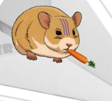 Fighter Hamster Sticker
