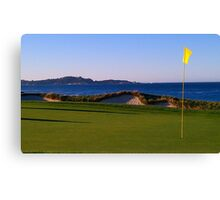 California Coastal Golf Canvas Print