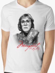 Twin Peaks - Margaret (The Log Lady) Mens V-Neck T-Shirt