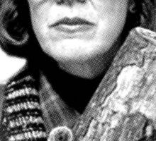 Twin Peaks - Margaret (The Log Lady) Sticker
