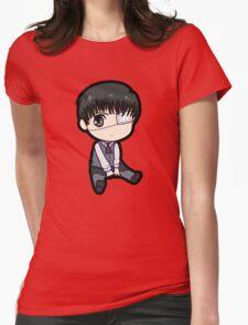 Kaneki Ken (Tokyo Ghoul) Womens Fitted T-Shirt