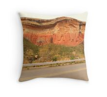 Strange rock formations Throw Pillow