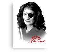 Twin Peaks - Nadine Canvas Print