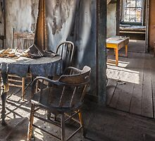 Abandoned House, Bodie, California by Robert Darby