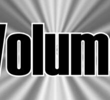 Volume Knob Sticker