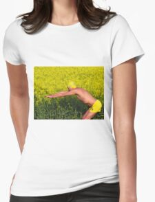 The Diver Womens Fitted T-Shirt