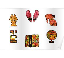 Coldplay fall Poster