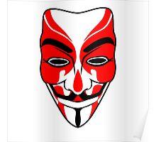 Vendetta Kabuki Poster