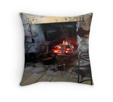 Is It Soup Yet? Throw Pillow
