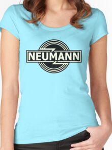 Vintage Neumann Horizontal Women's Fitted Scoop T-Shirt