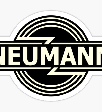 Vintage Neumann Horizontal Sticker