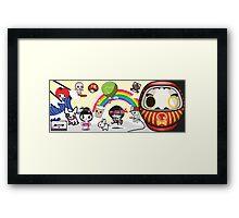 New Mikoto website banner Framed Print