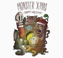 Monster Christmas by allanohr