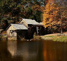 Mabry Mill by Patricia Betts