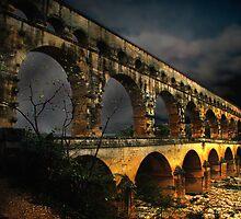 Pont Du Gard by justimagine