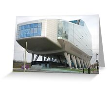Amsterdam ING Office Building Greeting Card