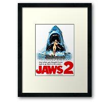 JAWS 2 Framed Print