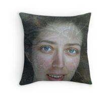 Magical eyes Throw Pillow