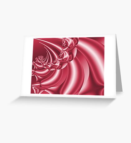 Peppermint Swirl Greeting Card