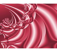 Peppermint Swirl Photographic Print