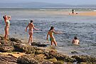 Beach Babes at Merimbula by Darren Stones