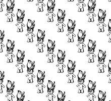 Troll Pattern (Diagonal) by Elle Fennah