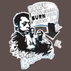 Go Tell it On The Mountain. James Baldwin. For dark fabric. by PleaseBelieve