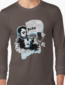 Go Tell it On The Mountain. James Baldwin. For dark fabric. Long Sleeve T-Shirt