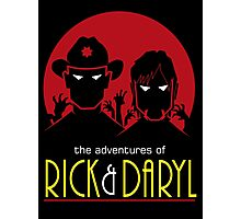 The adventures of Rick and Daryl Photographic Print