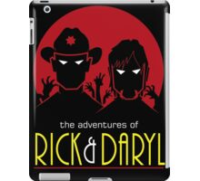 The adventures of Rick and Daryl iPad Case/Skin