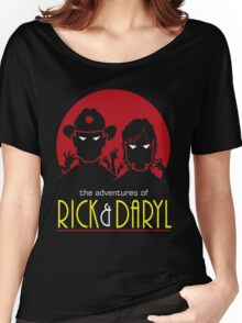 The adventures of Rick and Daryl Women's Relaxed Fit T-Shirt