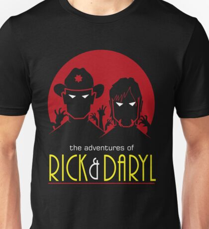 The adventures of Rick and Daryl Unisex T-Shirt