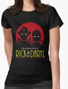 The adventures of Rick and Daryl Womens Fitted T-Shirt