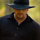 Man in Black by BigRPhoto