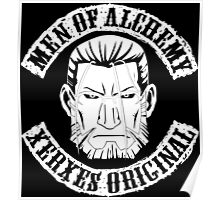 Men of Alchemy - Xerxes Original (Patch) Poster