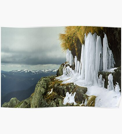 Icicles - Lady Northcotes Canyon Poster