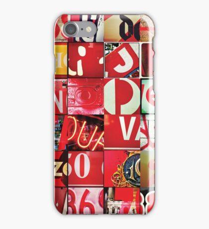 Instagram Alphabet Collection #5 iPhone Case/Skin