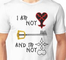 I AM NOT HEARTLESS Unisex T-Shirt