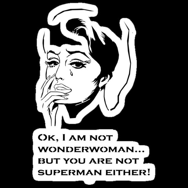 Wonderwoman by Juana Luján