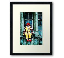 Shall I do it? Framed Print