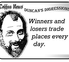 Winners and Losers Trade Places Every Day by vancoffeenews