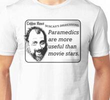 Paramedics Are More Useful Than Movie Stars Unisex T-Shirt
