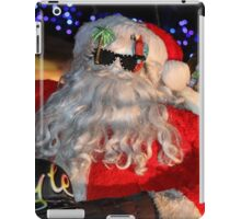 Santa Claus, Jimmy Buffett Style iPad Case/Skin