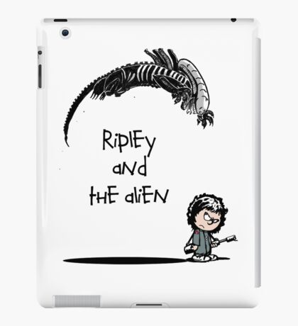 Ripley and the Alien iPad Case/Skin