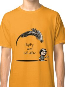 Ripley and the Alien Classic T-Shirt