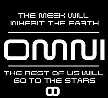 OMNI - The meek shall inherit the earth - WHITE by skonenblades