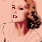 Grace Kelly Illustration by Juana Luján